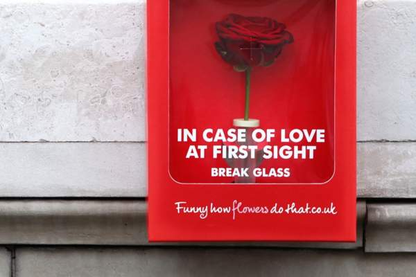 Valentine's Day ad by Flower Council of Holland